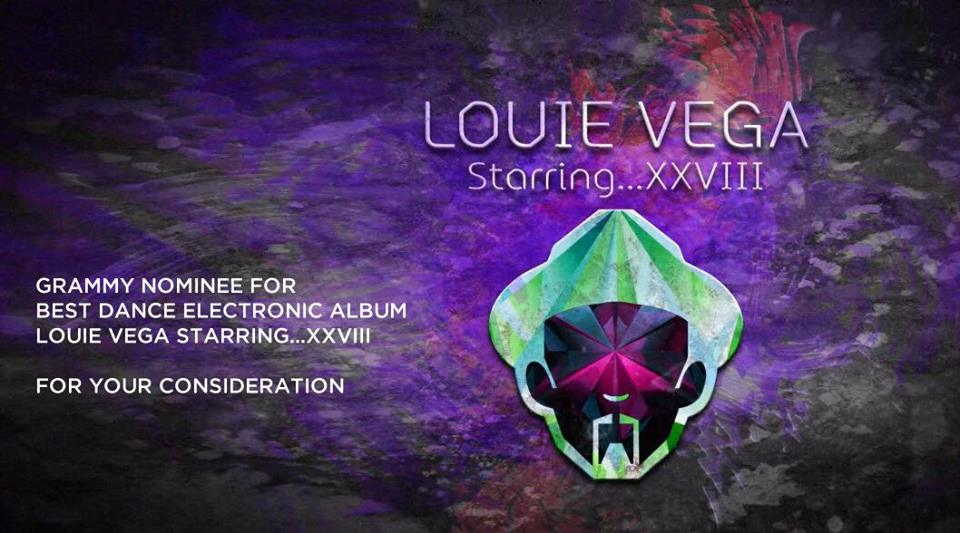 Louie Vega is a 2017 Grammy Nominee