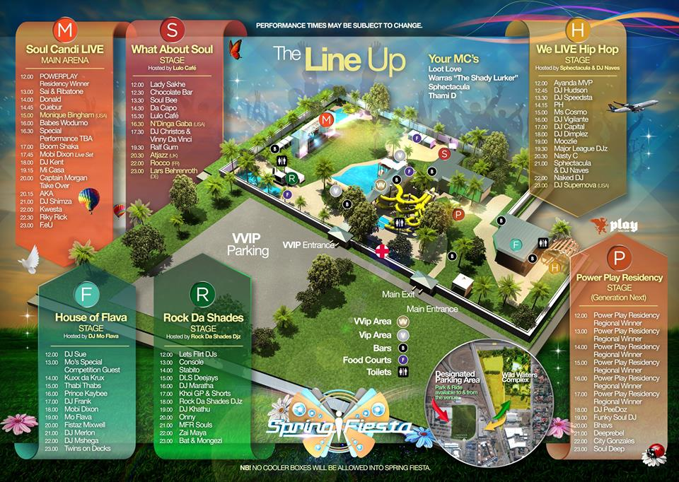 THE FULL #SPRINGFIESTA2016 LINE-UP
