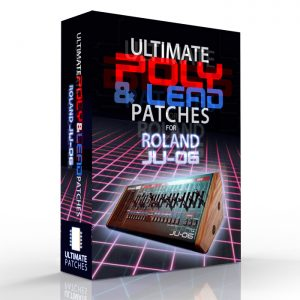 NEW ROLAND JU-06 PATCH BANKS FROM ULTIMATE PATCHES