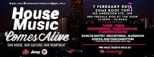 House Music Comes Alive (February)