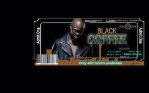 A Night with Black Coffee at Alto Lounge