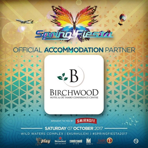 Accommodation for #SpringFiesta2017