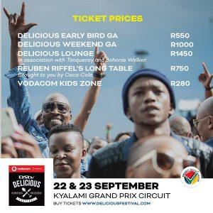 #DStvDelicious 2018 Ticket Info