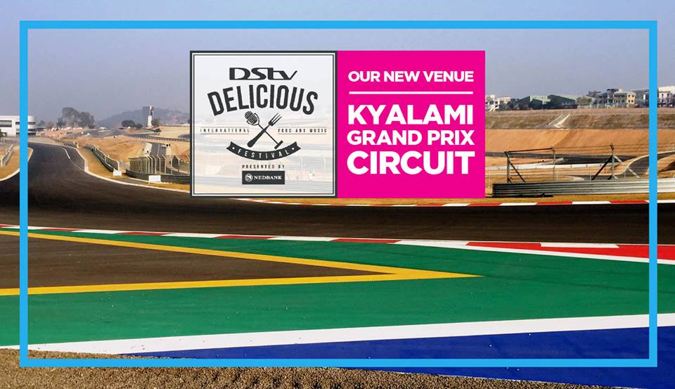 #DSTVDelicious at Kyalami Grand Prix Circuit