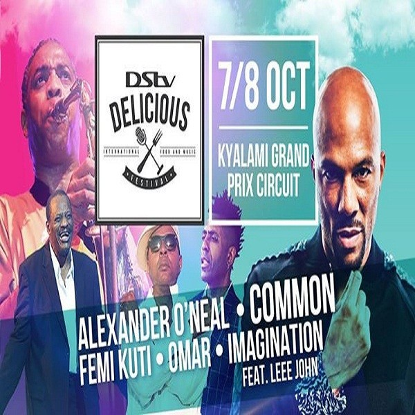 #DStvDelicious2017 announces sizzling line-up of international acts