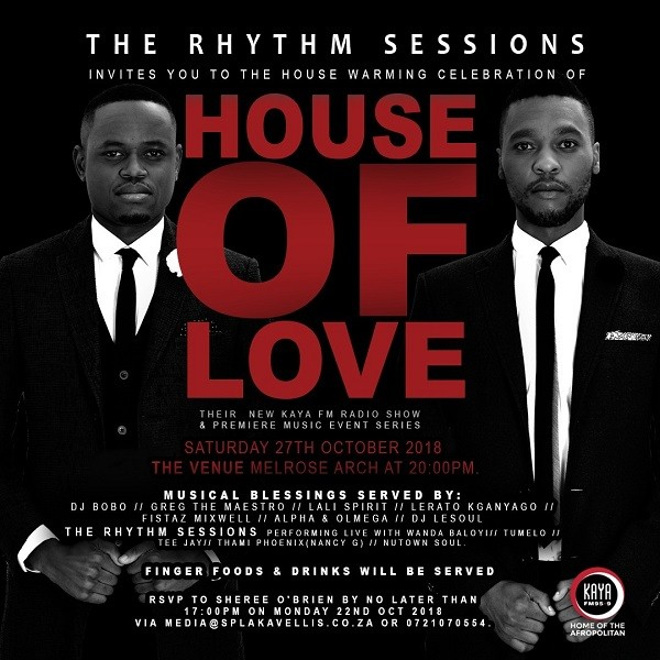 The Rhythm Sessions launches House of Love event