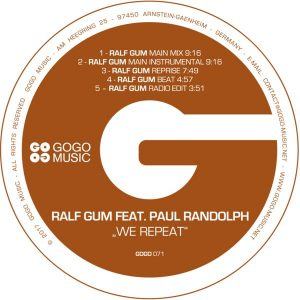 Ralf Gum feat Paul Randolph- We Repeat (Ralf Gum Main Mix)