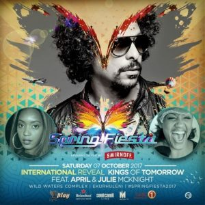 SPRING FIESTA ANNOUNCES 1st INTERNATIONAL GUEST