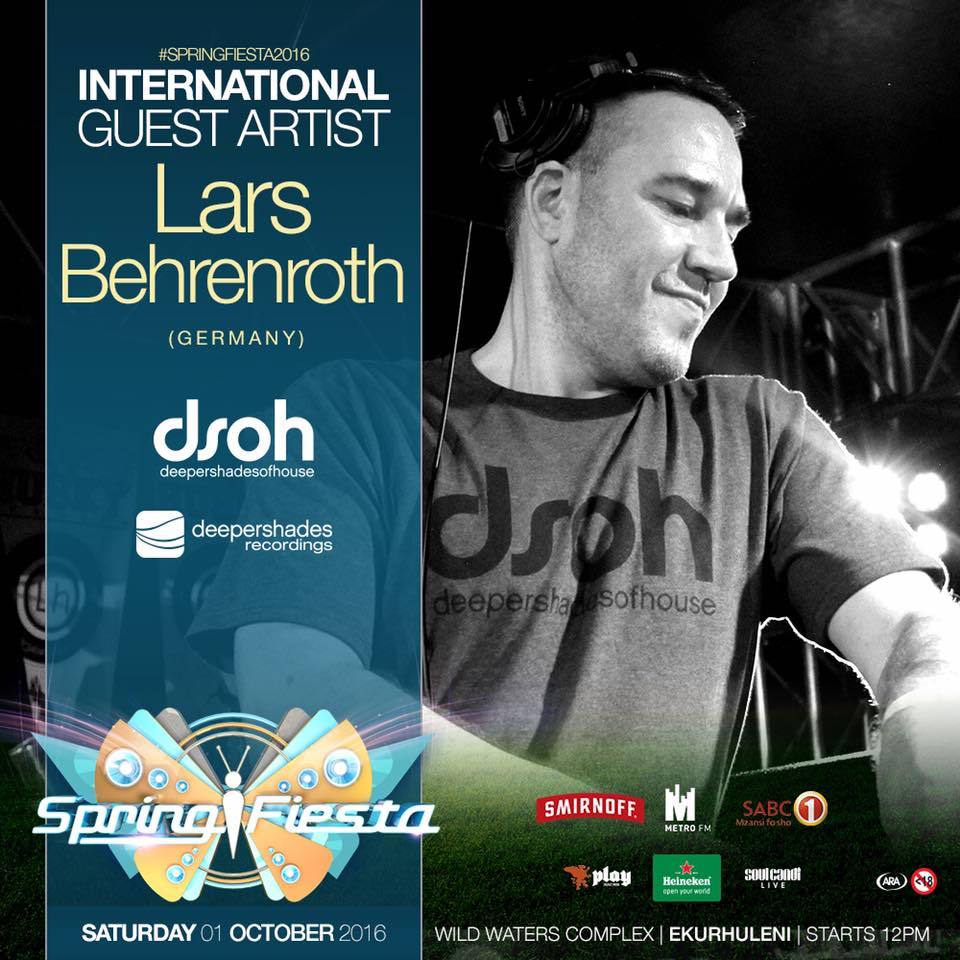 #SpringFiesta2016 with Lars Behrenroth