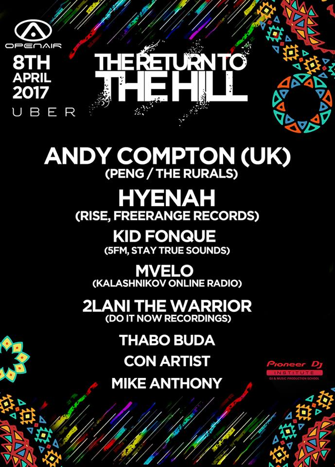 Open Air Presents The Return To The Hill