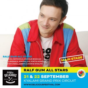 Ralf GUM and the ALL STARS set to rock at #DSTVDelicious