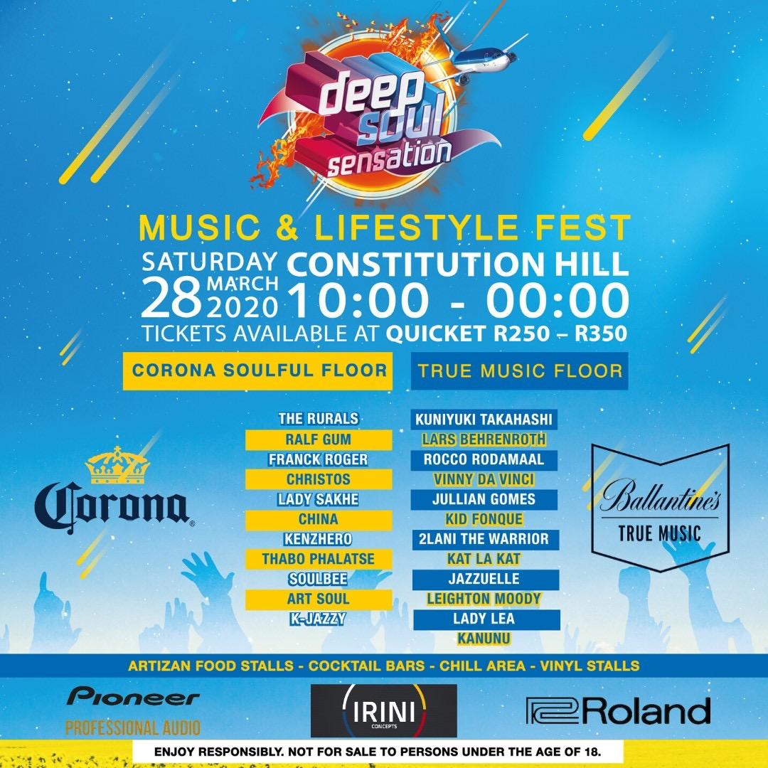 Deep Soul Sensation Music & Lifestyle Fest