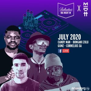 Ballantine's and Madorasindahouse come together for Big Night In this July