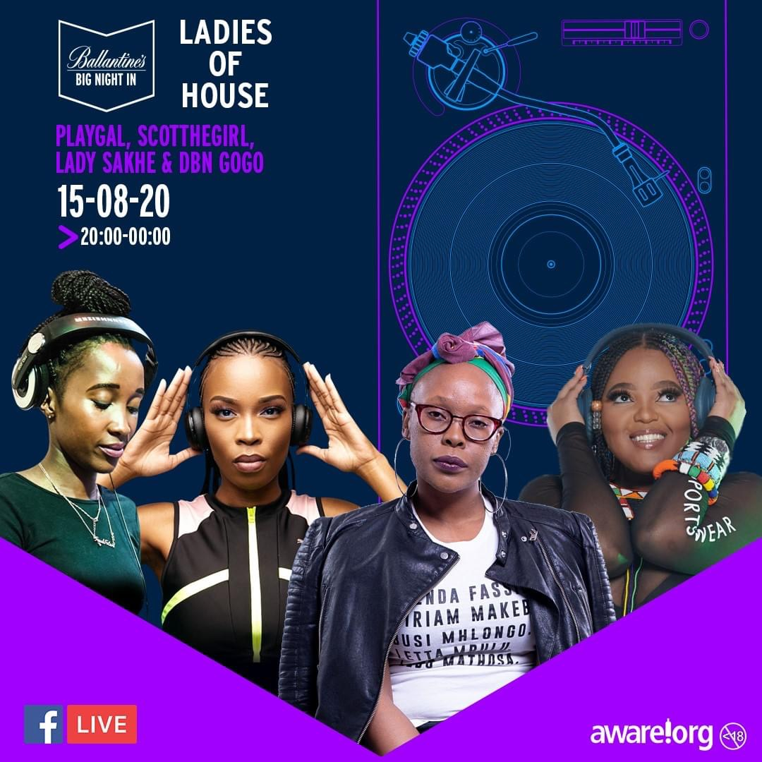 Ballantine's whisky brings you 'Ladies of House'