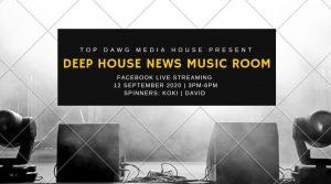 The Deep House News Music Room