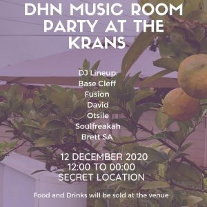 Deep House News presents the DHN Music Room Party at The Krans