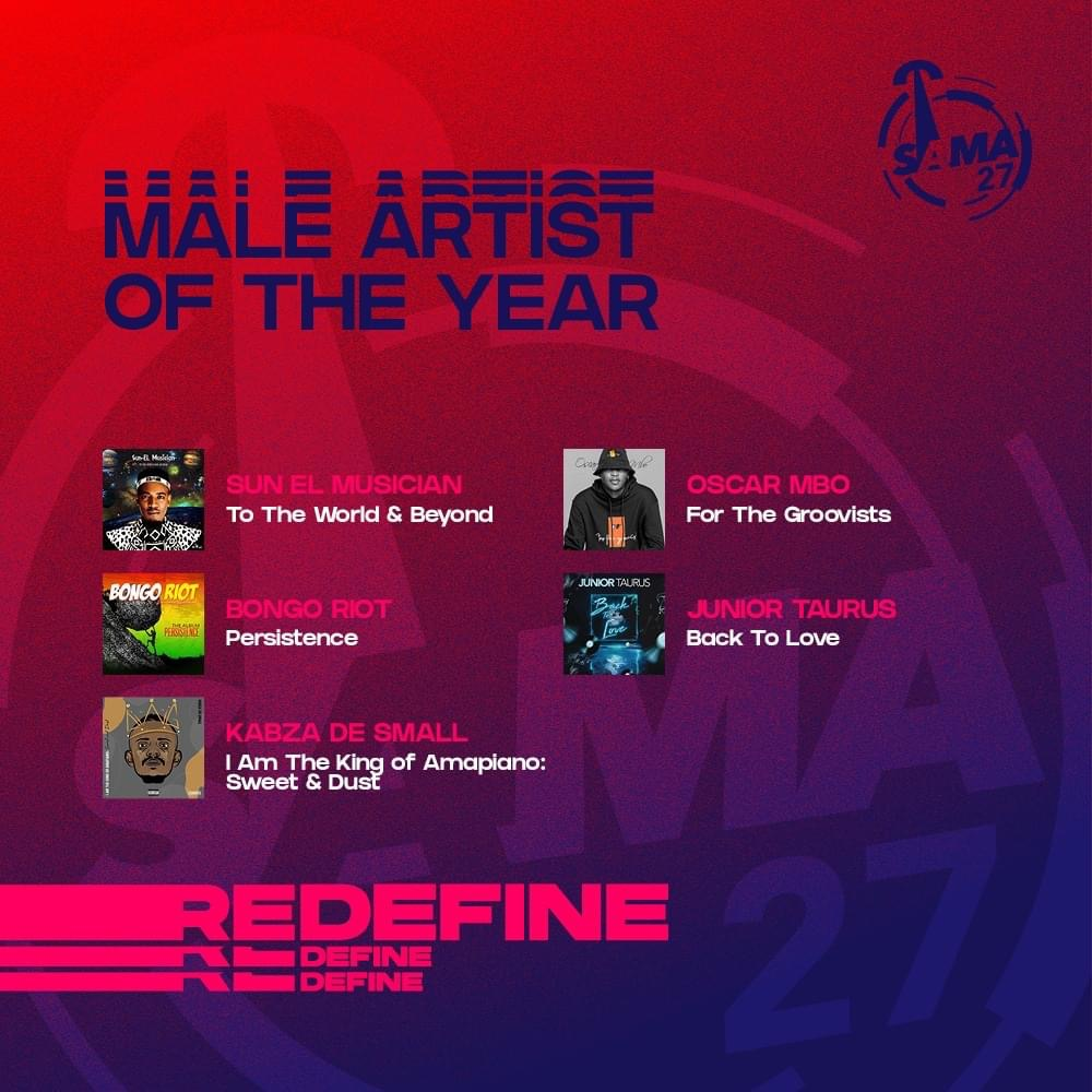 Congrats to the South African House Music artists