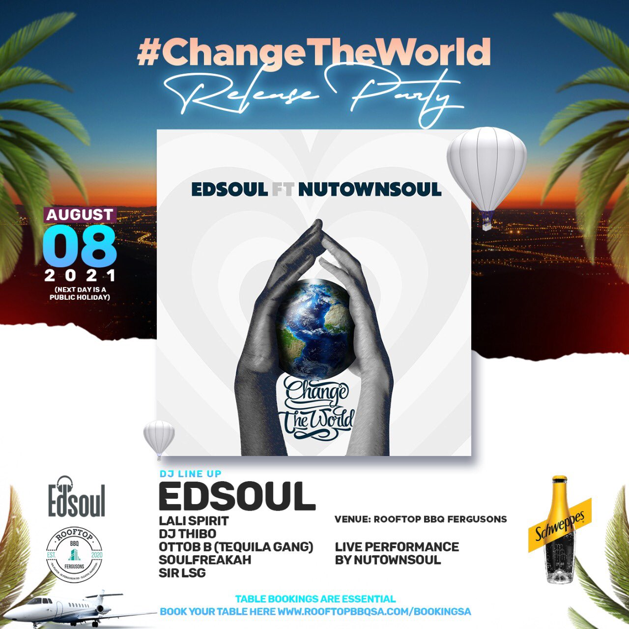 Change The World – (Release Party)